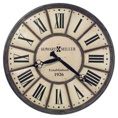 Howard Miller Company Time 49 in. Wall Clock