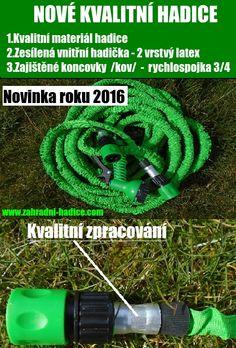 Nové zahradní smrštovací hadice 2016 nejkvalitnější
