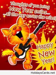 New year smiles wish