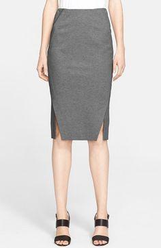 Donna Karan New York Mélange Jersey Pencil Skirt available at #Nordstrom