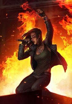 Firegirl by SineAlas