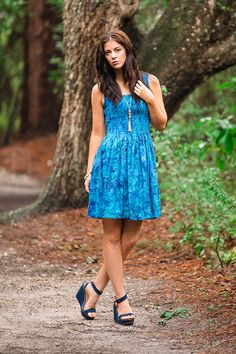 Blue Jazz Batik Dress – Go Fish Clothing & Jewelry Company