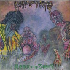 Impetigo - Horror Of The Zombies on Limited Edition LP