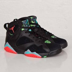 8a8c0588be62f4 Air Jordan 7 Marvin The Martian AKA Barcelona Nights Retro Sneaker  Available Now (Detailed Look On Feet With Dj Delz )