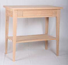 JUVIn Sivupöytä, 80x45, tervaleppää