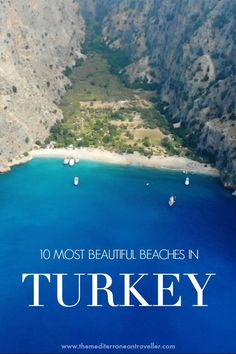10 Best Beaches in Turkey. This beautiful country is a mind-blowing destination for beach-lovers. But which are the top 10 best beaches in Turkey you should make a beeline for on your travels? Turkey Destinations, Travel Destinations, Destin Beach, Beach Trip, Beach Travel, New Travel, Asia Travel, Family Travel, Travel Logo