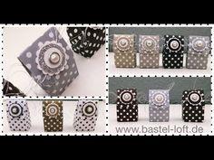 5 Minuten Goodie - Mini-Osterei-Verpackung (auch für jeden anderen Anlass) - YouTube