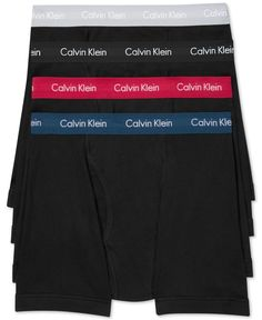 Calvin Klein 3-Pack Classic Boxer Briefs +1 Bonus Pair, Only at Macy's