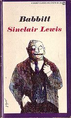 "Book Covers - Sinclair Lewis' ""Babbitt"" 