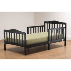 Orbelle Convertible Toddler Bed Finish Black