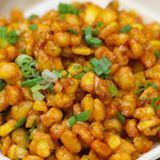 Crispy Corn and like OMG! get some yourself some pawtastic adorable cat shirts, cat socks, and other cat apparel by tapping the pin! Vegetarian Cooking, Vegetarian Recipes, Cooking Recipes, Corn Recipes, Indian Food Recipes, Indian Snacks, Crispy Corn Recipe, Yummy Snacks, Yummy Food