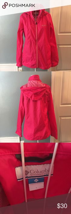NWOT Columbia Windbreaker/Raincoat NWOT! Size large Columbia Jackets & Coats