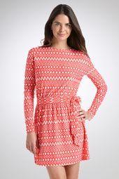Coastline Dress - Print Melanoma stinks!  SPF Clothing is a great invention