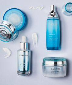 Laneige provides brighter, firmer skin using, skin-perfecting mineral water.