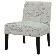 vanity chair Found it at Wayfair - Lourdes Slipper Chair in Gray http://www.wayfair.com/daily-sales/p/Rustic-Chic-Office-Space-Lourdes-Slipper-Chair-in-Gray~XXZY8712~E16871.html?refid=SBP