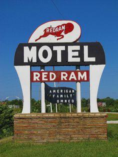 Red Ram Motel, Fort Scott, Kansas