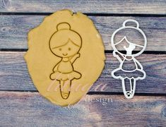Cute ballerina cookie cutter for the little ballett dancer, for little girls, baby gifts About 11 cm high and 5 cm wide; 4.4 high and 2 wide Ready to ship. Important: please read our delivery times in our Policies, thanks! BY PURCHASING THIS ITEM YOU AGREE TO OUR POLICIES: