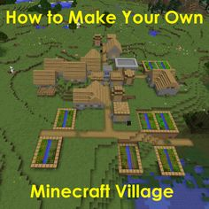 Learn how to make a village in #Minecraft by using doors, zombie villagers or transporting villagers!