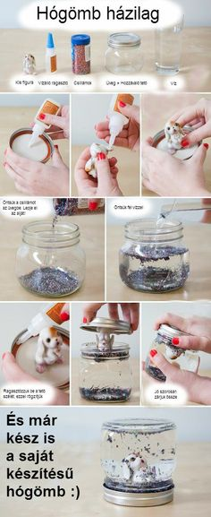 DIY Snow Globe diy diy ideas diy crafts do it yourself diy tips diy images do it yourself images diy photos diy pics diy snow globe fun gifts it yourself decorating ideas handmade Kids Crafts, Cute Crafts, Crafts To Do, Craft Projects, Arts And Crafts, Craft Kids, Easy Diy Crafts, Craft Tutorials, Holiday Crafts