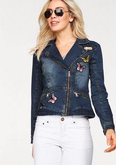 9fce91850d3749 Die 9 besten Bilder von jeansjacke mit Rüschenkragen