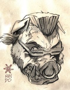BEBOP TMNT by Mundokk on deviantART