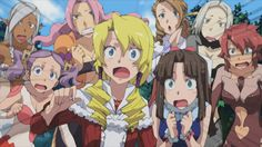 Over the weekend, during their Ohayocon panel, FUNimation revealed the English dub cast for Isekai no Seikishi Monogatari, or as it will be called in English, Tenchi: War on Geminar. The full and rather extensive English dub cast can be seen below: