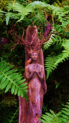 Wind In My Hair Forest Sprite Driftwood Spirit by ShapingSpirit, $277.00