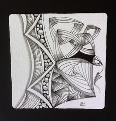 Square One: Purely Zentangle twing
