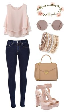 """""""Blondie"""" by babyninjago ❤ liked on Polyvore featuring Chicwish, Accessorize, rag & bone, Miu Miu, CHARLES & KEITH, Sunday Somewhere and ALDO"""