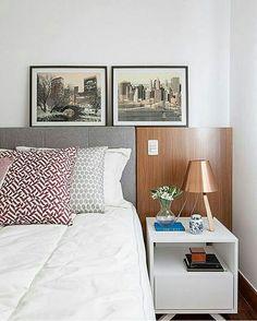 Inspiração ♡ #interiores #design #interiordesign #decorlovers #archilovers #inspiration #ideias #dormitório #quarto #bedroom