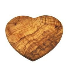 Naturally Med Olive Wood Chopping Board - Heart shape: Amazon.de: Kitchen & Home