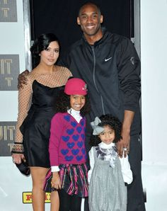 Celebrity Marriage: Kobe & Vanessa Bryant, (m. 2001-2011; 2 children)