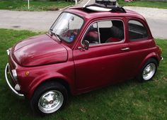 Hemmings Find of the Day 1974 Fiat 500R