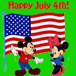 4th of July Printable Greeting Cards