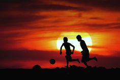 Sunset Silhouettes Ball