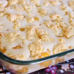 Peaches & Cream Cobbler {Guest Post}