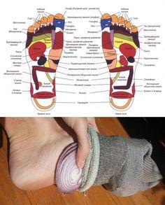 Как лук в носках может изменить вашу жизнь Кажется, что это решение слишком простое... Но оно работает! | Красота и здоровье | Постила