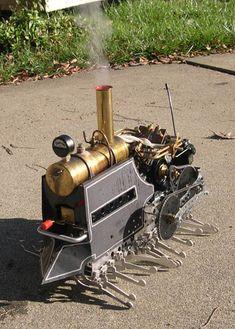 `.Steam Centipede by CrabFu Steamworks.