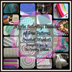 SIZZLIN SATURDAY OF FREE PATTERN ROUNDUP - CROCHET BLANKETS