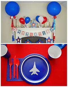 top gun birthday party