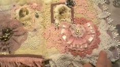 Elegant  Lace & Doily Book