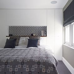 Calming main bedroom | Renovated Victorian home | House tour | PHOTO GALLERY | Homes & Gardens | housetohome.co.uk
