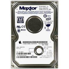 """Maxtor DiamondMax 250GB SATA MDL:6B250S0 Apple-P/N:655-1228A 3.5"""" HDD Hard Disk"""