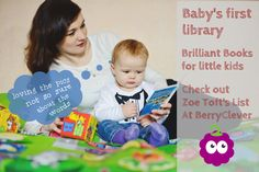 Zoe Toft of Playing by the Book, provides her expert advice on the best books to buy for your little one for BerryClever. Thanks Zoe! Baby Sleep, Books To Buy, The Book, Good Books, Thankful, Advice, Words, Tips