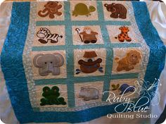 Blog Darlene got this embroidery machine and has been going crazy playing and creating with it. She actually made this quilt a couple months ago,...