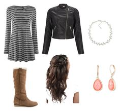 """""""MCD Casey"""" by silentpoet ❤ liked on Polyvore featuring Lipsy, Reef, Carolee, Vintage America and mincraftdiaries"""