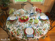 September 18, 2017 Shamrock, scarlet, white and periwinkle fiestaware