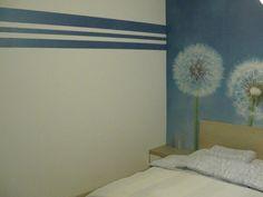 wandfarbe grau-graue wand mit weißen streifen | einfach schön ... - Wohnzimmer Farben Grau Streifen