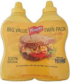 French's Classic 100% Natural Yellow Mustard Pack of 2 30 oz Bottles French's http://www.amazon.com/dp/B003XKWPD4/ref=cm_sw_r_pi_dp_fwhHvb0JV8BTX