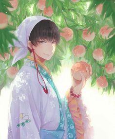 Hakutaku (Hoozuki no Reitetsu) Image - Zerochan Anime Image Board Cute Anime Boy, Anime Love, Anime Guys, Fan Anime, Anime Art, Yandere Boy, Boy Illustration, Bishounen, Kawaii